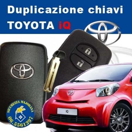Duplicazione chiavi Toyota iQ