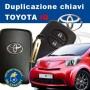 Toyota iQ keyless key duplication
