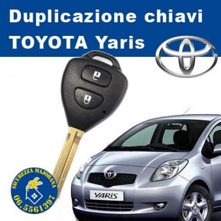 Duplicazione chiavi Toyota Yaris
