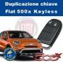 Duplicazione Chiave Fiat 500x keyless