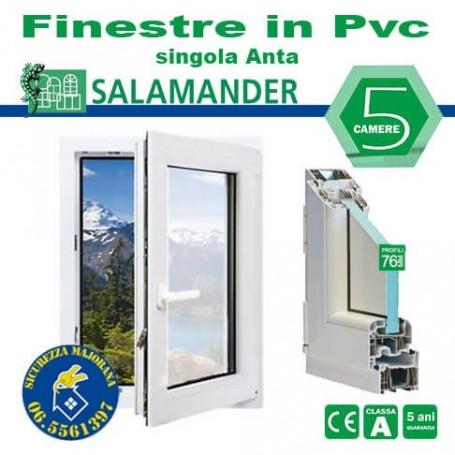 PVC single-leaf windows