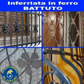 inferriate in ferro battuto
