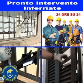 Pronto Intervento Inferriate di Sicurezza Roma