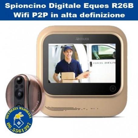 Spioncino Digitale Eques R26B Wifi