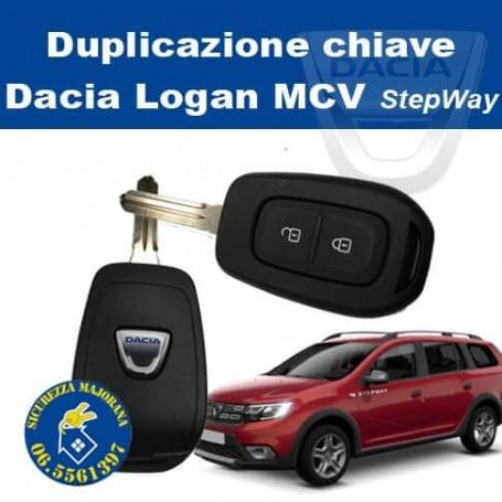 Key duplication Dacia Logan mcv Stepway