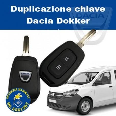 Duplicazione chiave Dacia Dokker
