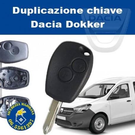 Dacia Dokker key duplication