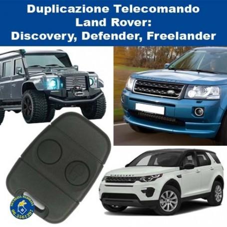 Remote control duplication Lucas Land Rover