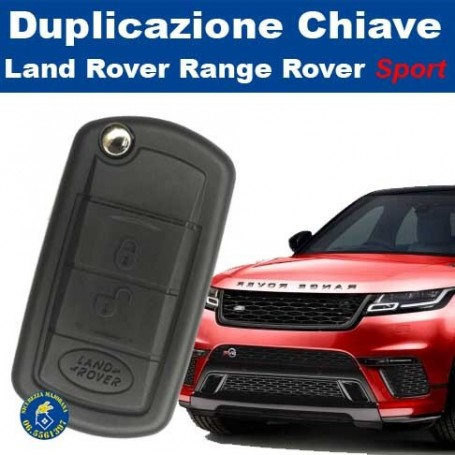 Key duplication Land Rover Range Rover sport