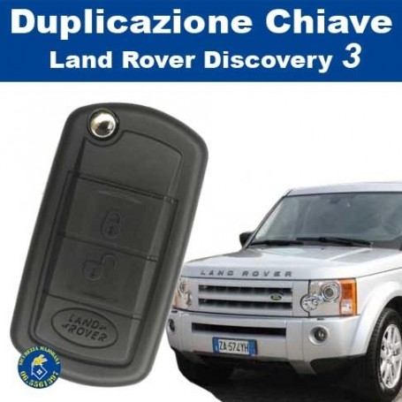 Key duplication Land Rover Discovery 3