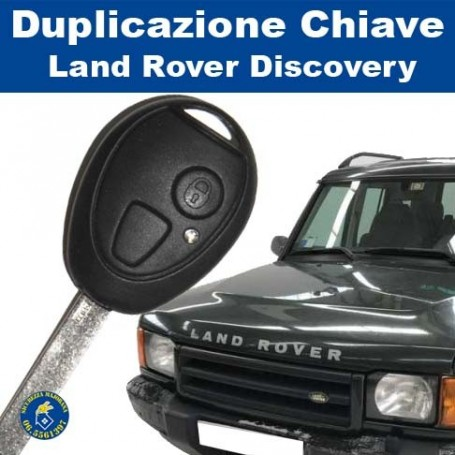 Duplicazione chiavi Land Rover Discovery