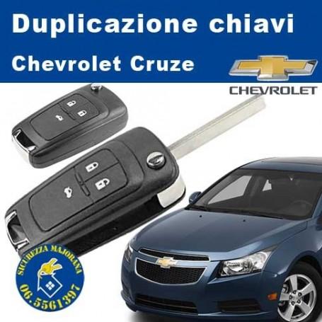 Key duplication Chevrolet Cruze