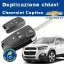 Duplicazione chiave Chevrolet Captiva