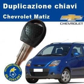 Duplicazione chiave Chevrolet Matiz