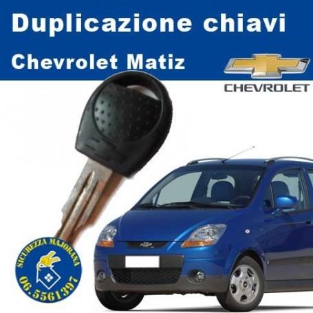Key duplication Chevrolet Matiz