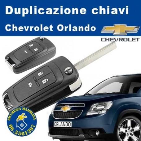 Duplicate Chevrolet Orlando keys