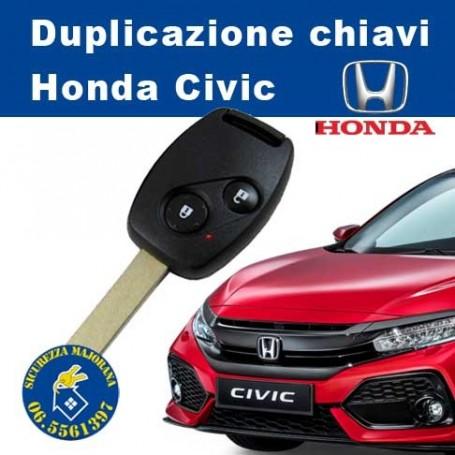Duplicazione chiavi Honda Civic