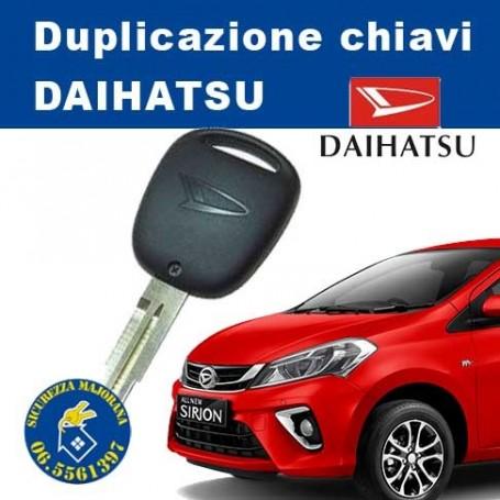 Duplicazione chiavi Daihatsu