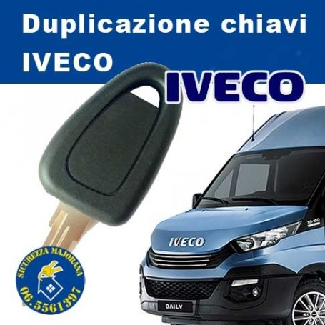 Iveco key duplication