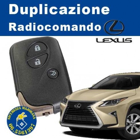 Lexus radio remote control duplication