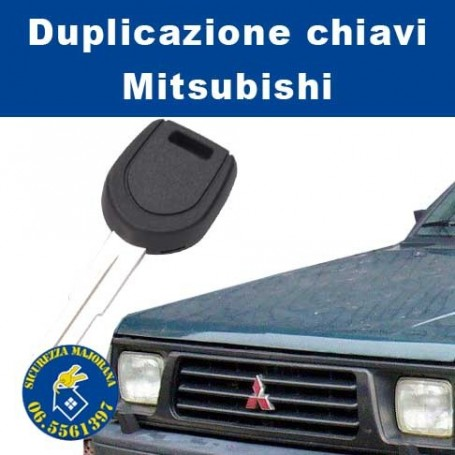 Duplicazione chiavi Mitsubishi