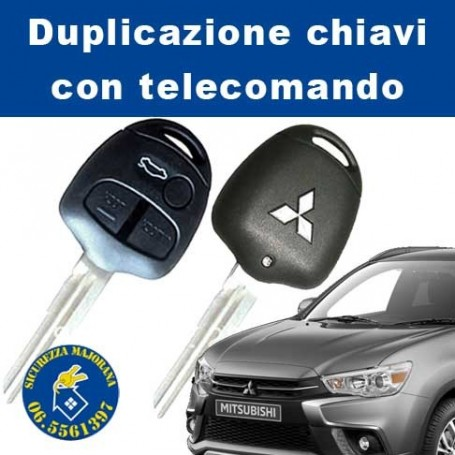 Key duplication with Mitsubishi remote control