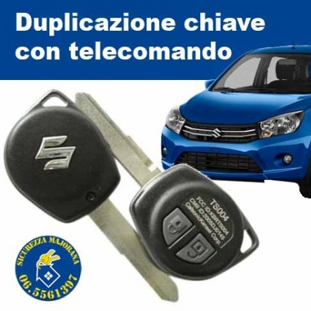Suzuki key duplication