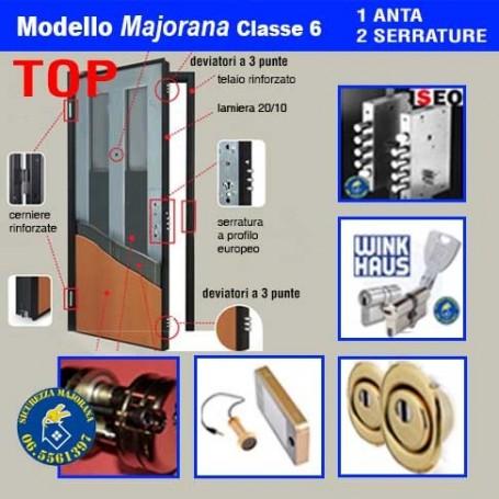 Porta blindata Majorana Top 1 anta doppia serratura