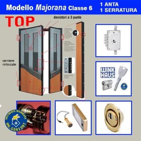 Porta blindata Majorana Top 2 ante 1 serratura