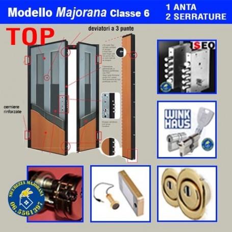 Porta blindata Majorana Top 2 ante doppia serratura