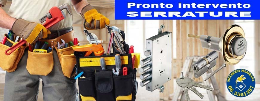 Pronto Intervento Serrature a Roma e provincia