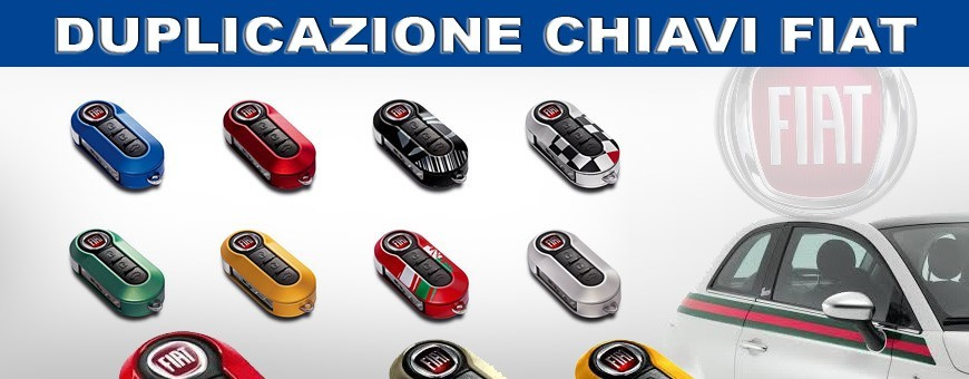 Duplicazione Chiavi Fiat ogni serire