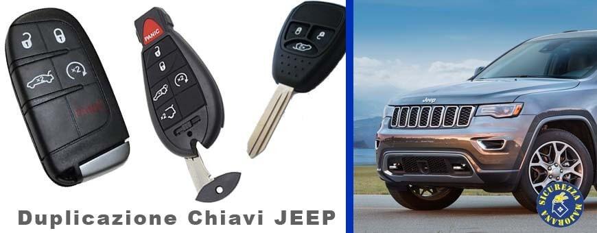Duplicazione Chiavi Jeep