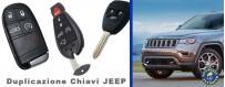 Duplicazione e programmazione chiavi Jeep con telecomando