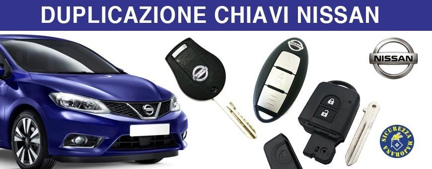 Duplicazione Chiavi Nissan