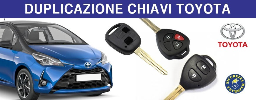 Duplicazione Chiavi Toyota