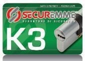 cilindro europeo securemme k5