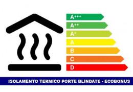 Isolamento termico porte blindate e Ecobonus