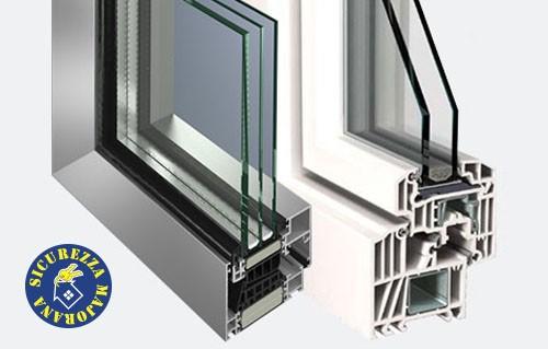 Serramenti infissi in alluminio o pvc